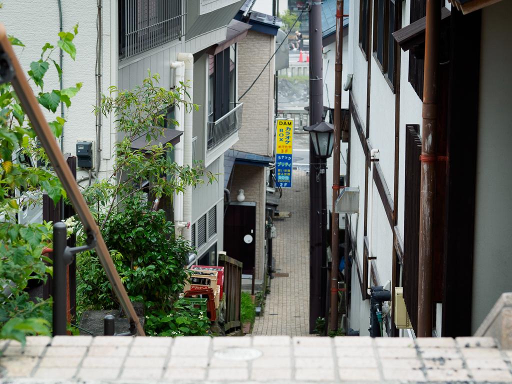草津温泉の路地