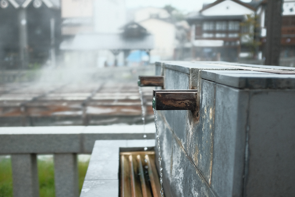 草津温泉湯畑の御手洗