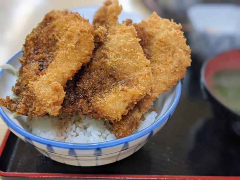 群馬名物ソースカツ丼