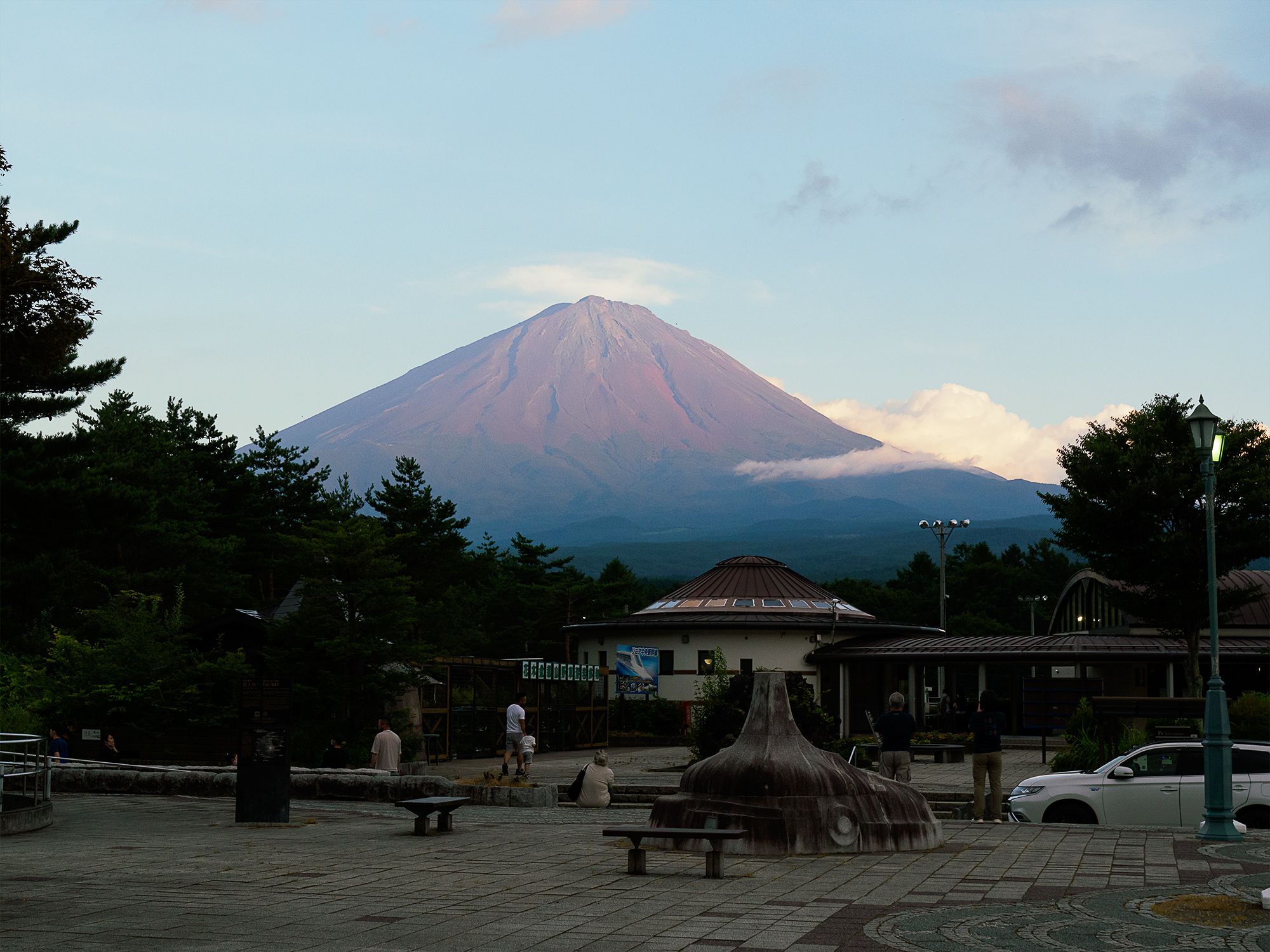 道の駅なるさわ 富士山