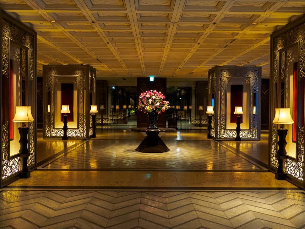 東京プリンスホテル ロビー
