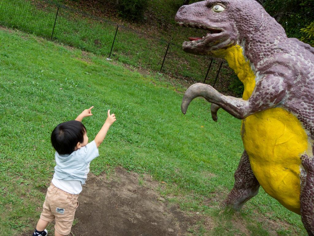 館山運動公園恐竜広場